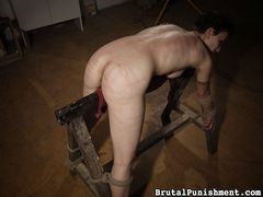Brutal Punishment - Mouth torture...ass torture...you name it, she endures it. But not happily or quietly. She is screaming all the way.